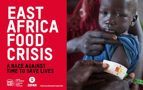 Oxfam | East Africa Food Crisis advertisement