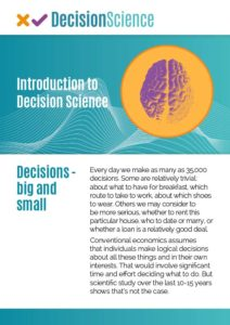 Introduction To Decision Science | Cover
