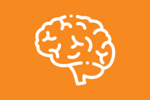 Services | Brain Graphic - orange