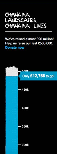10 Ways to Donate - Goal Meter