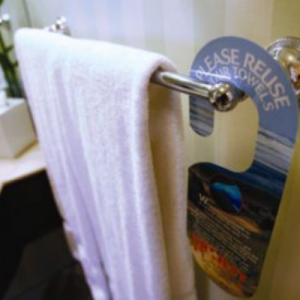 Re-use towels