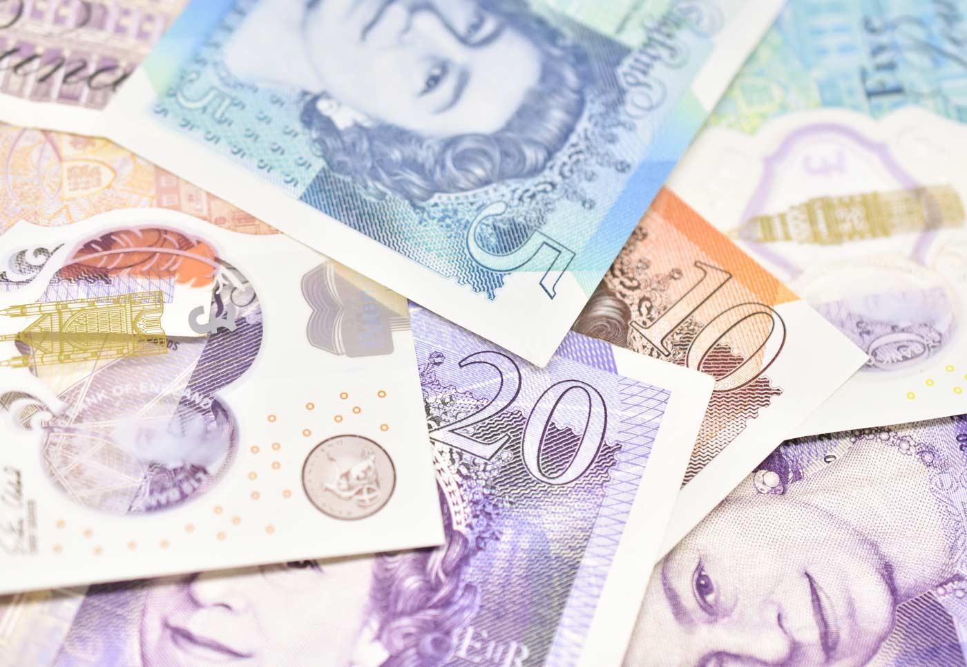 Decision Science | Dirty Money, Marina Jones | UK British bank notes