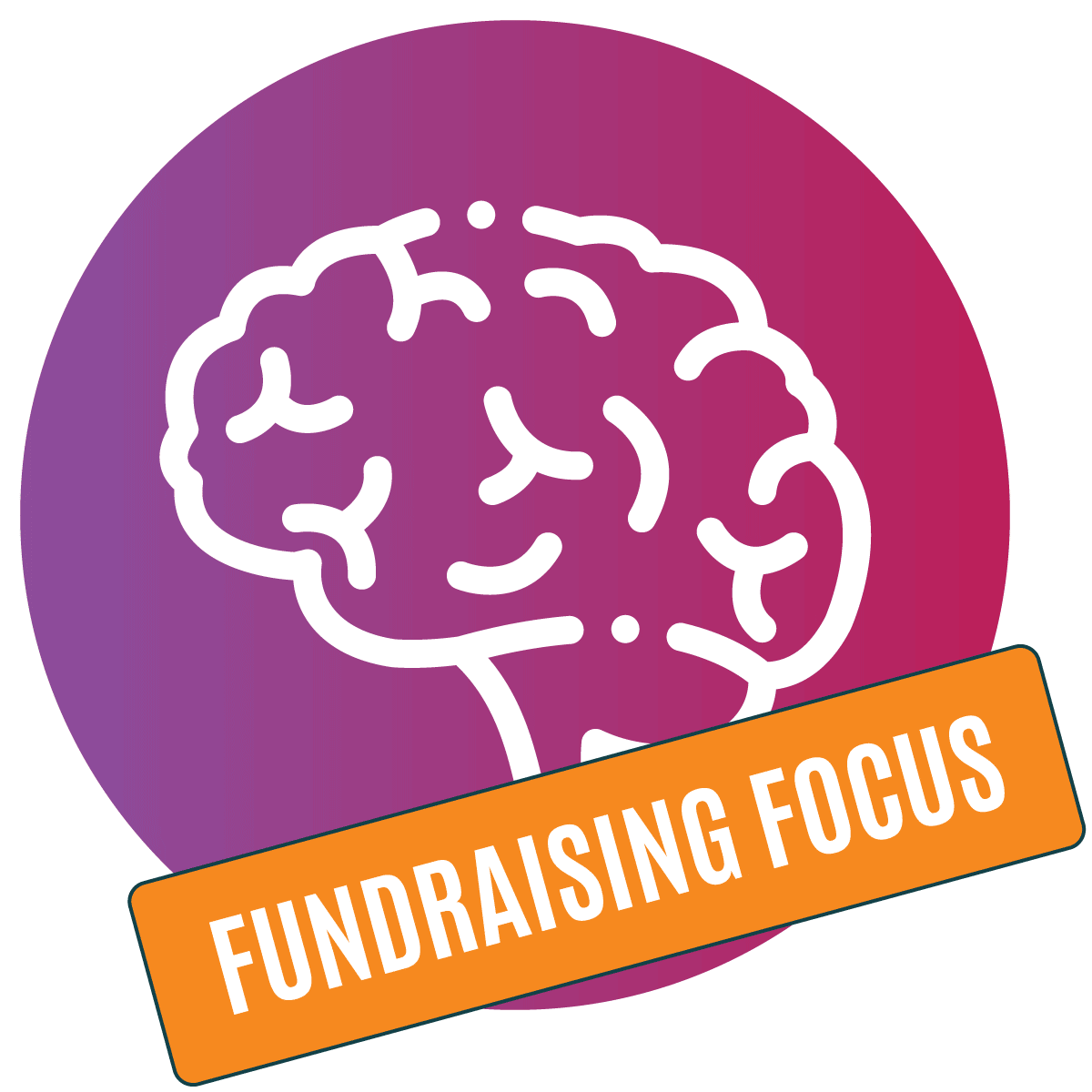 Decision Science   Brain Icon   Change For Better - Fundraising Focus